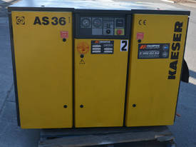 AS 36 7.5bar screw compressor 22kw 125 CFM - picture6' - Click to enlarge