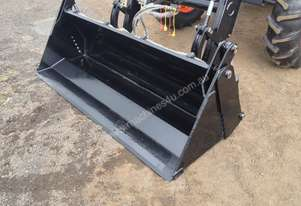loader with 4 in 1 bucket level lift