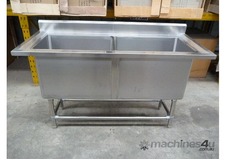 NEW COMMERCIAL 1500X300 STAINLESS STEEL WALL POT S
