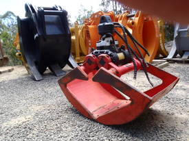 Hiab Hydraulic Grab Grapple Rotating - picture1' - Click to enlarge