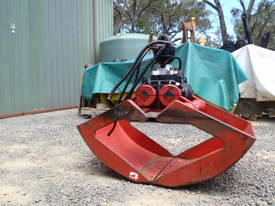 Hiab Hydraulic Grab Grapple Rotating - picture5' - Click to enlarge