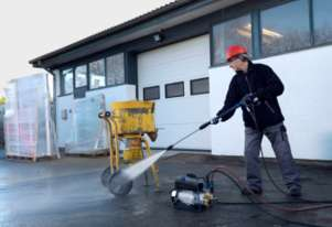 Nilfisk Industrial Pressure Cleaner (SC UNO 4M 140/620 PS) Alpha Booster 3-26