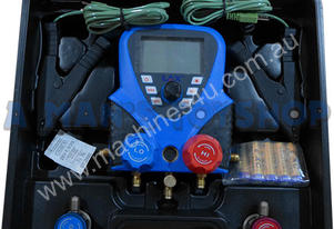 AIR CON MANIFOLD DIGIT GAUGE KIT & HOSES