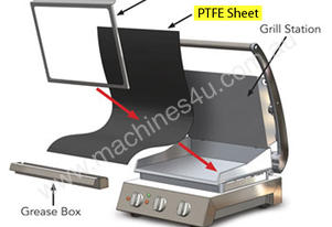 PTFE non-stick sheet for 8 slice Grill Stations