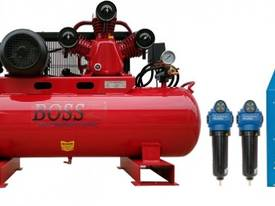 BOSS 20CFM/ 4HP Compressor with Clean Air Package  - picture0' - Click to enlarge