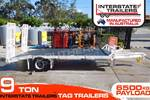 9 TON Tag Trailer with Tool box & Water tank