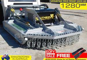 4' Foot Slasher 1280mm Brush Cutter for skid steer