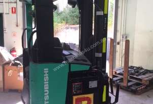 Mitsubishi Sit On Reach Forklift