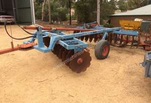 Gibbins Rawlings 2 way Disc Plough