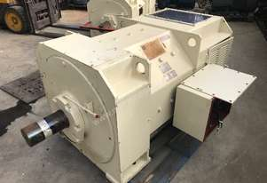 375 kw 500 hp Toshiba DC electric motor