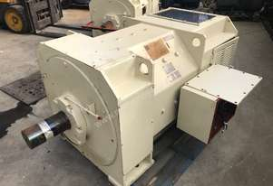 375 kw 500 hp 522 rpm Toshiba DC electric motor