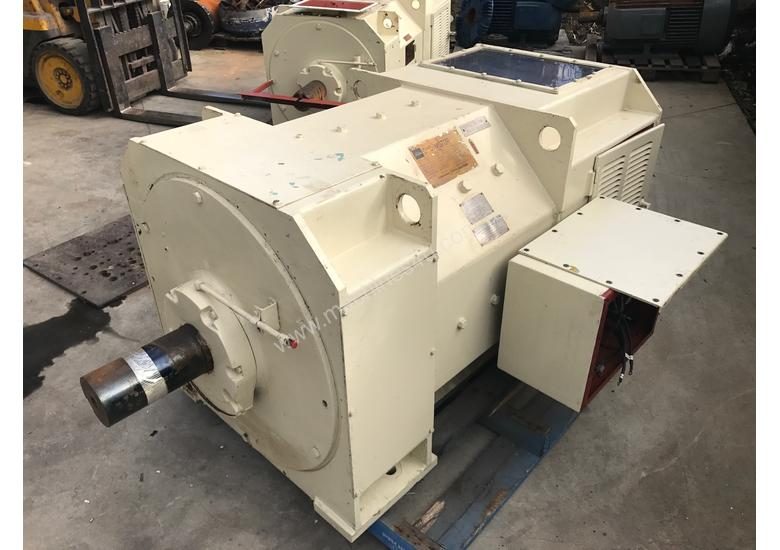 Used 1987 toshiba 375 kw 500 hp 522 rpm Toshiba DC electric motor DC