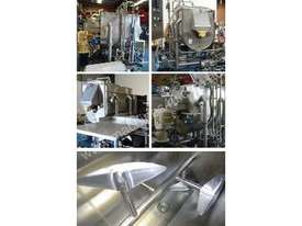 Paddle Mixer / Blender (Jacketed, Single Shaft) - picture6' - Click to enlarge