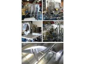Paddle Mixer / Blender (Jacketed, Single Shaft) - picture0' - Click to enlarge
