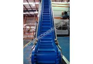 L-Shape Inclined Cleated Belt Conveyor with Wave Edge