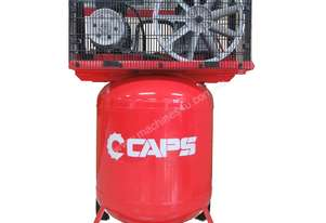 CAPS 10cfm 120V Piston Air Compressor, 10bar 2-Cylinder