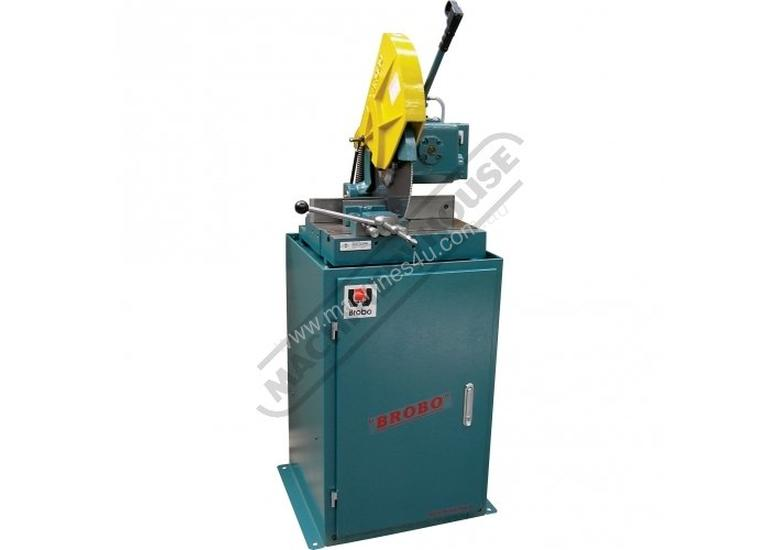 S400B Brobo Cold Saw, Includes Stand 135 x 110mm Rectangle Capacity Dual Speed 21 / 42rpm