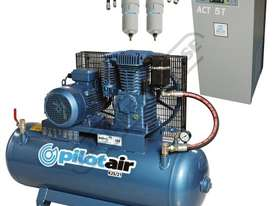 K25/21 Industrial Air Compressor & Refrigerated Air Dryer Package Deal 150 Litre / 5.5hp 20.5cfm / 5 - picture0' - Click to enlarge