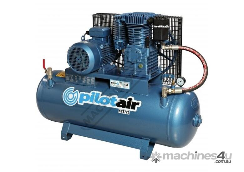 K25/21 Industrial Air Compressor & Refrigerated Air Dryer Package Deal 150 Litre / 5.5hp 20.5cfm / 5