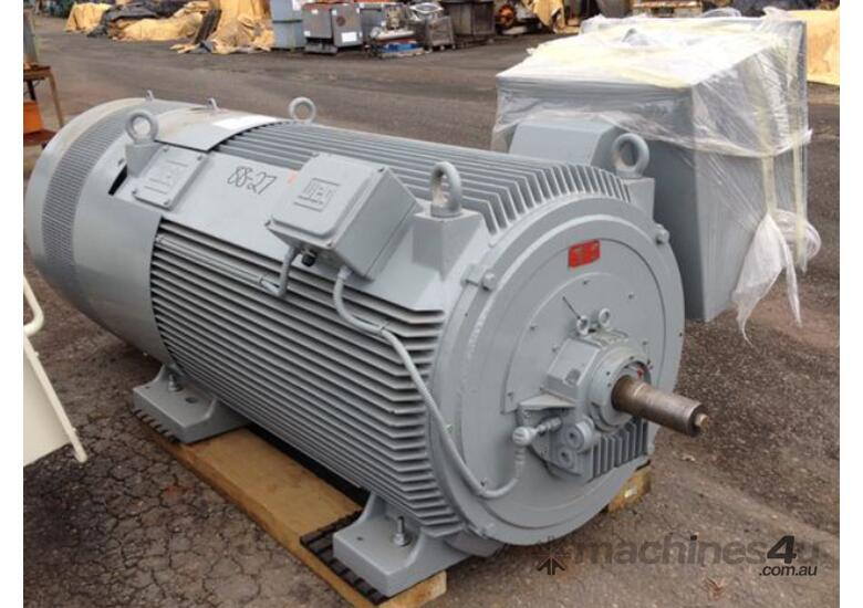 Used 2010 weg 750 kw 1000 hp 2 pole 6600 v electric motor for 40 hp 3 phase electric motor