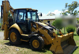 CAT 428F Backhoe with only 200hrs