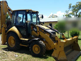 CAT 428F Backhoe with only 300hrs.  E.M.U.S MS349D - picture0' - Click to enlarge