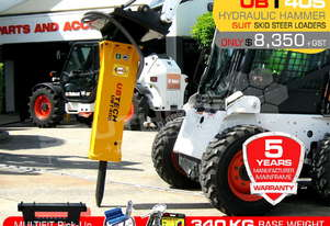 UBT40S Skid Steer Loader Silence Hydraulic Rock Breaker ATTUBT