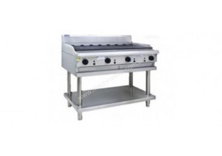 Luus Essentials Series 900 Wide Grills & Chargrills 900 bbq & shelf