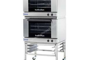 Turbofan E27M3/2 - Full Size Tray Manual Electric Convection Ovens Double Stacked