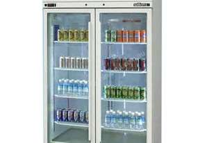Williams HPS2GDCB Pearl Star Glass 2 Door Refrigerator