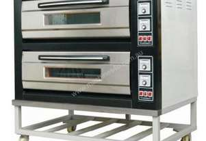 Amalfi   Electric Two Deck Oven