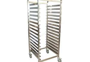 KSS 15 Tray Mobile Bakery Rack Trolley (16