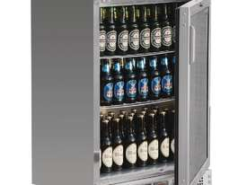 Polar CE205-A - Bar Display Cooler Stainless Steel Single Hinged Door - picture0' - Click to enlarge