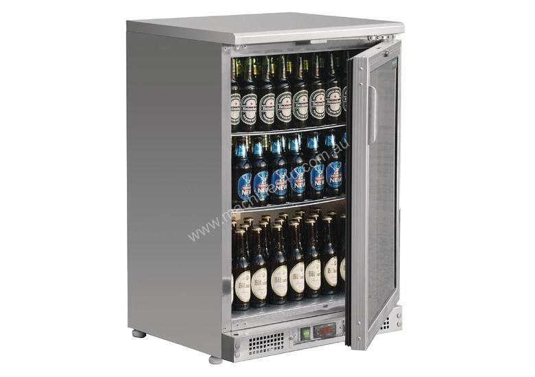 Polar CE205-A - Bar Display Cooler Stainless Steel Single Hinged Door