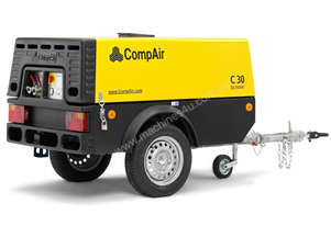 88.3 cfm Diesel Compressor on Trailer