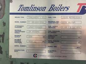 Tomlinson Steam Boiler 500kw - picture1' - Click to enlarge