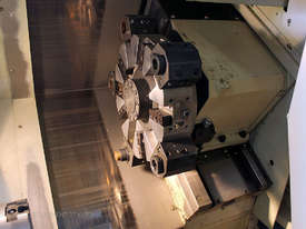 Daewoo Lynx 200B CNC lathe & Iemca V-66LE Barfeed - picture4' - Click to enlarge