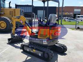 EXCAVATOR WITH HYD QUICK HITCH, EXPANDABLE TRACKS AND EXPANDABLE DOZER BLADE - picture0' - Click to enlarge