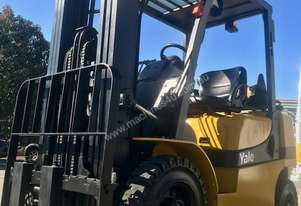 Yale -Very Low Hour 2.5 Tonne Container Mast Forklift