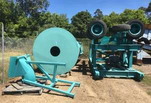 Inverell Foundry Scrubber Trommel with feed chute