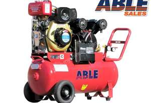 AIR COMPRESSOR DIESEL 4HP 70 LITRE 13CFM 125PSI