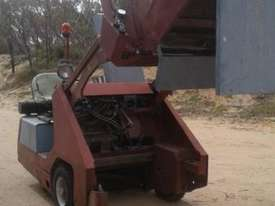 POWERBOSS ride on sweeper complete  & operational - picture0' - Click to enlarge