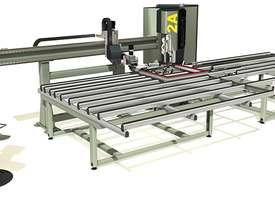 Emmegi Trimmer 2A Corner Cleaning Machine for PVC Frames - picture0' - Click to enlarge