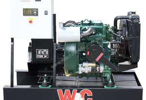 6.1kVA, Single Phase, Lister Petter Open Standby Generator