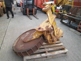 trench compaction roller for dozer - picture0' - Click to enlarge