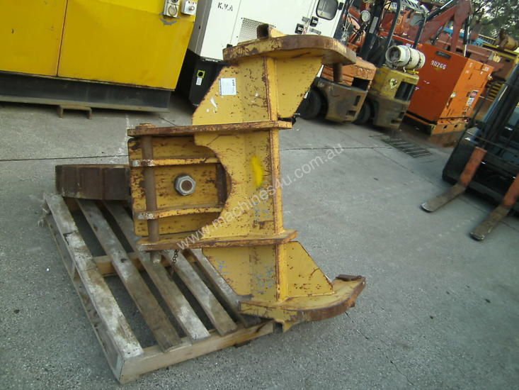trench compaction roller for dozer