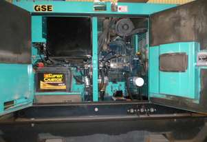 8.8kVA Used Denyo Enclosed Generator