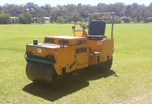 Used Heavy Dual Smooth Drum Roller / Cricket Pitch Roller