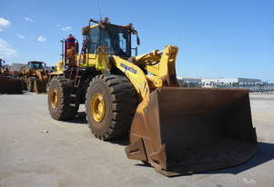 2016 Komatsu WA500-6 4x4 Articulated Wheel Loader