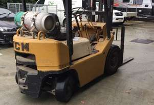 TCM Forklift 1.8ton LPG 1993 model used in cabinet making factory.